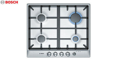 BOSCH PCP 615M90E  Built-in Brushed Steel Kitchen Gas Hob Brand New !!!