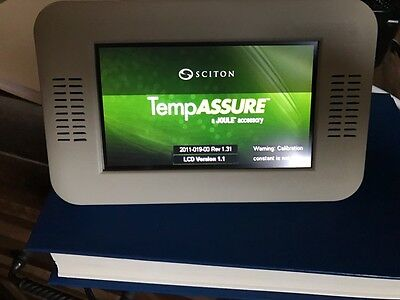 Sciton Temp Assure screen and module for Pro Lipol temperature monitoring