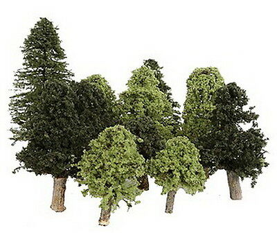 Timberline Scenery 290 Deciduous Assortment 2-5'' Summer Grove Trees (11)