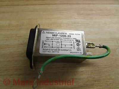 Nemic-Lambda MIF-1206-33 Noise Filter - Used