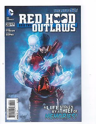 Red Hood & the Outlaws # 20 Regular Cover NM DC New 52 N52