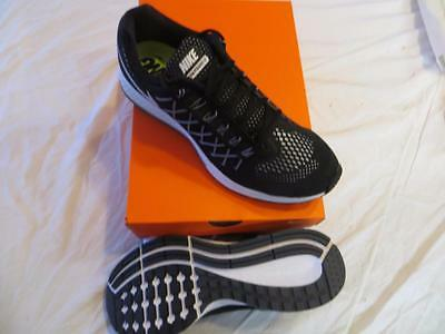 Nike Men's Air Zoom Pegasus 32 Sz 9 Black/white-Pure Plat Ret$110 Nib