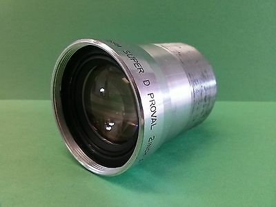 """BELL & HOWELL SUPER D PROVAL 16mm 2""""  f/1.4 PROJECTION LENS"""