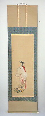 Old Chinese or Japanese Painting, Unusual Skulls Design