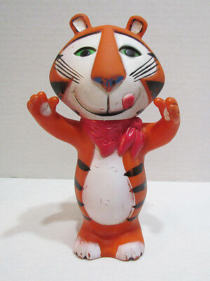 Tony The Tiger 1974 Kellogg's Vinyl Advertising Figure Ad Doll Cereal Mascot