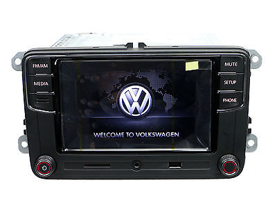 OEM VW RCD330 Plus Radio 6.5'' MIB UI Bluetooth USB AUX for VW Golf CC RCD510