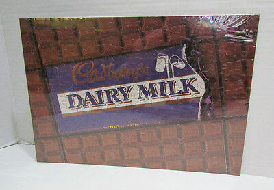 Cadbury's Chocolate Dairy Milk Advertising Premium Jigsaw Puzzle Vintage Candy