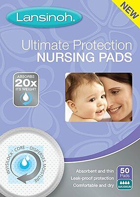 Case of Lansinoh Ultimate Protection Nursing Pads contains 12 - 50 count boxes