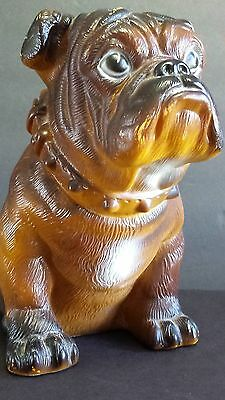 MACK TRUCKS BULLDOG VINYL ADVERTISING MASCOT BANK AD FIGURE VINTAGE 1970's