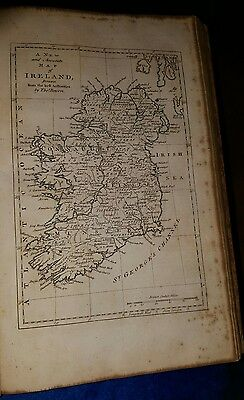 Antique Print Map Ireland By T Bowen 1770's