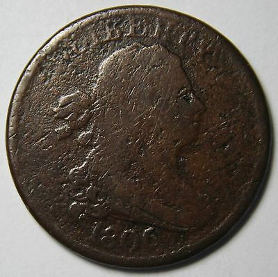 1806 Draped Bust Half Cent 1/2 Coin Lot # MZ 4185