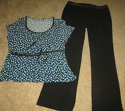 27p Women's Spring Clothing Lot Size 10 Large Career/Casual Pants/Shirts/Skirts