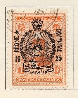 Middle East;  1926 Provisional Issue Fine Used 1ch. Optd 140194