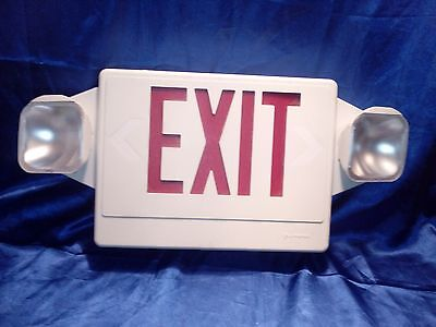 Lithonia Lighted EXIT Sign Internal & External Lighting