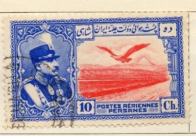 Middle East;  1930 Riza Pahlavi Issue Fine Used 10ch. 140266