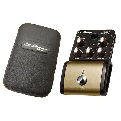 LR Baggs Session DI Acoustic Guitar Preamp Direct Input Pedal USED