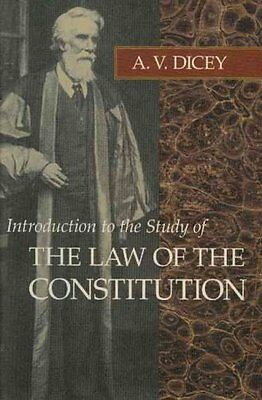 Introduction to the Study of the Law of the Constitution 9780865970038