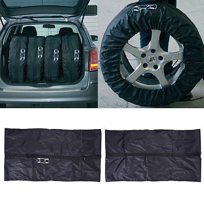 Auto Car Spare Tire Tyre Cover Case Protector Vehicle Tire Storage Bag 80CM