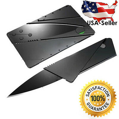New Credit Card Thin Knives Cardsharp Wallet Folding Pocket Knife USA SHIP