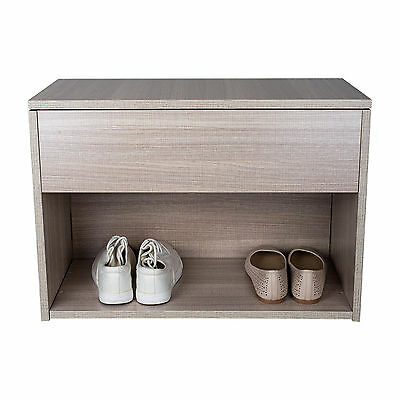 NewStyle Shoe Storage Seater Bench Cabinet Bench Stand Rack Unit Cupboard 2 Tier