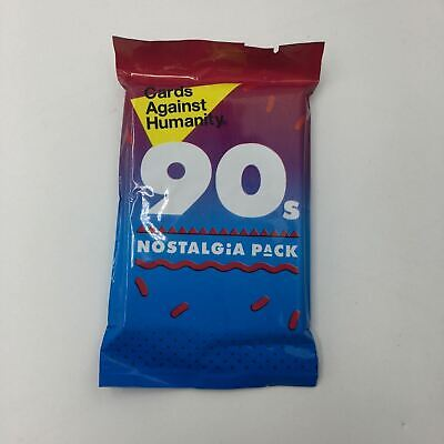 New Cards Against Humanity Australian 90s Nostalgia Expansion Pack Party Game