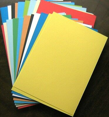 20 sheets   A5 COLOURED CARD ASSORTED  140 - 200gsm