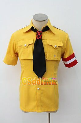 Hellsing Ultimate Schrodinger Cosplay costume shirt with gloves CS