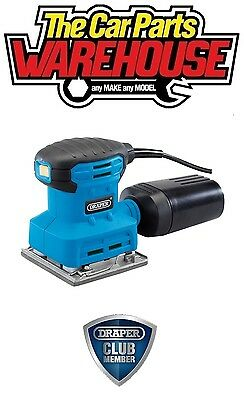 "⭐ DRAPER 1/4"" Square Sheet Palm Hand Orbital Sander Excellent Quality 53122 ⭐"