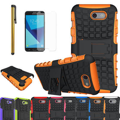 Shockproof Hybrid Rugged Case Cover For Samsung Galaxy J7 2017/J7 V/Sky Pro/Perx