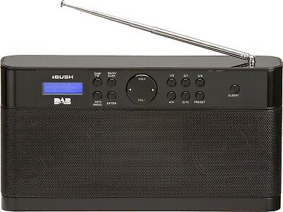 Bush CDSB85RR Stereo DAB/FM Radio - Black. From the Official Argos Shop on ebay