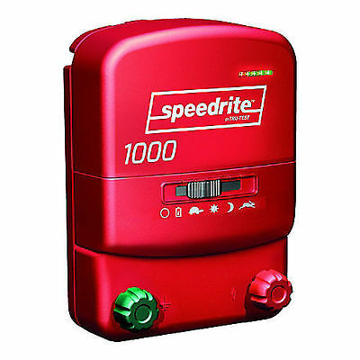 Speedrite Electric Fence Charger, 1000 Unigizer, NEW, 10 miles (40 acres)