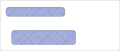 500 Self Seal Double Window Envelope | Item #CE15149S