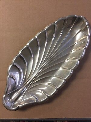 Reed & Barton Sterling Silver Scalloped Bread Tray