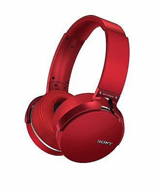 Sony MDR-XB950BT Bluetooth Extra Bass Headphone - RED *UK* XB950BT A