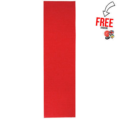 Enuff Skateboards Skateboard Griptape, Red