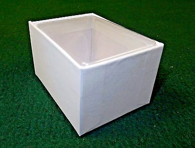 """White Gift Box 3""""x2"""" Box w/Clear Acetate Tuck Lid ~ Lot of 12, Jewelry, Candies"""