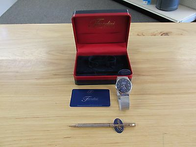 """Pen & Watch Set """"Fondini Collection"""" Pre-owned Needs Battery ~Free Ship 96453~"""