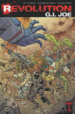 Gi Joe Revolution #1 (Idw 2016 1St Print) Comic