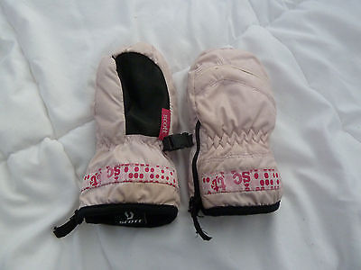 Scott Pink Girls Mittens Size 2-4 Years