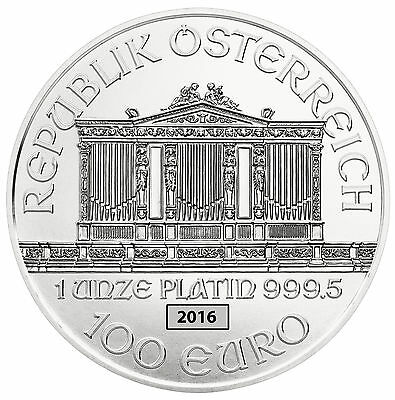 1oz Platinum Philharmonic - 2016