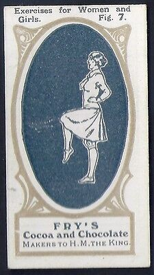 Frys-Exercises For Women & Girls-#07- Quality Card!!!