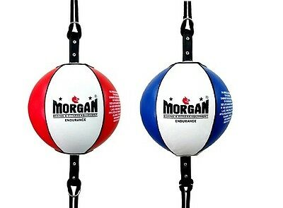 """MORGAN 8"""" ENDURANCE FLOOR TO CEILING + Adjustable Strap Boxing Punching Speed"""