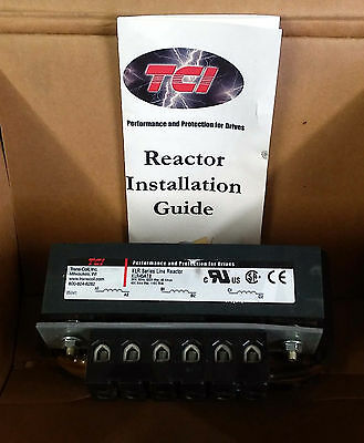1 New Tci Klr45Atb Klr Series Line Reactor 3Ph, 45A ***make Offer***