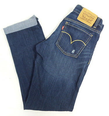 Levi's Girls Boyfriend Stretch Jeans US Size 14 Reg NWT