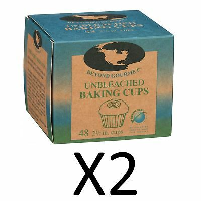 Beyond Gourmet Standard Size Unbleached Baking Muffin Cups Least Harmful (2Pack)