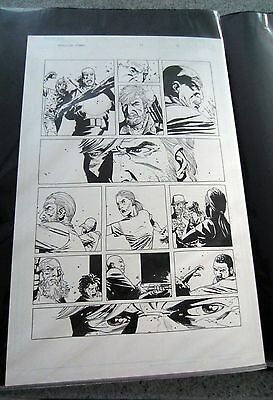 Walking Dead Issue 19 Page 15 Original Art last Dexter Rick walker key issue!