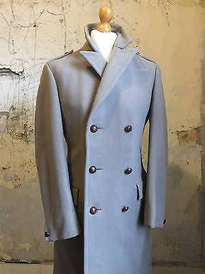 Vintage heavy British warm overcoat size 38 long