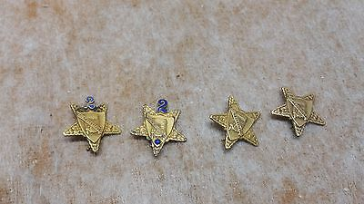 Vintage Merit For Safety Pin Truck Bus Semi Set Of 4
