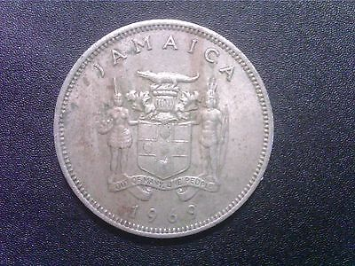 Jamaica   20    Cents    1969