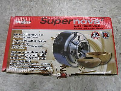 NOVA SuperNOVA2 23055 Wood Turning Chuck NEW